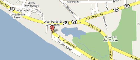 Shores of Panama Condos Location